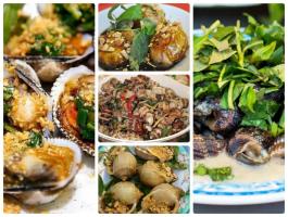 Quán ốc ngon nhất khu vực trung tâm thành phố Đà Nẵng