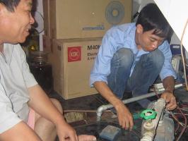 Dịch vụ sửa máy bơm nước tại nhà uy tín nhất Hà Nội