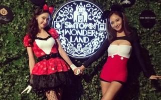 Style độc và lạ của các sao Hàn vào Halloween