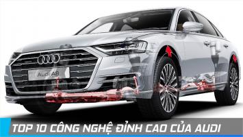 Công nghệ hiện đại nhất trên các mẫu xe Audi mới 2019