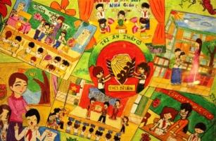 Top 10 Bức tranh vẽ ý nghĩa nhất ngày 20/11