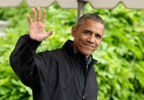 Hình ảnh bình dị của Tổng thống Mỹ Barack Obama