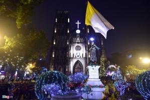Nhà thờ đón giáng sinh (Noel) ở Nam Định tuyệt nhất