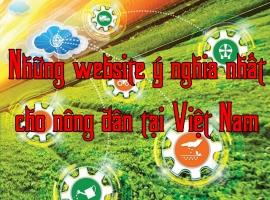 Website về nông nghiệp tốt  nhất cho nhà nông năm 2018