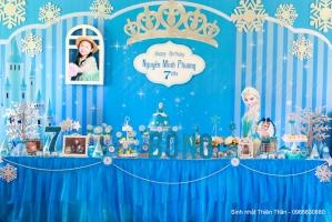 Dịch vụ tổ chức, trang trí tiệc sinh nhật tại nhà cho bé ở Hà Nội