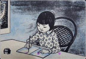 Bài thơ đầu tiên dạy ta thành người thời mới đi học