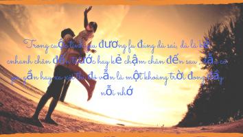 Bài thơ hay viết về sự nhớ nhung xa cách trong tình yêu