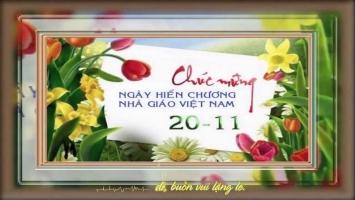 Bài văn hay và ý nghĩa về thầy cô nhân ngày 20-11