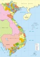 Bài văn tả tấm bản đồ Việt Nam hay nhất