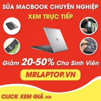 Bảng giá sửa Macbook uy tín lấy liền tại MrLaptop.vn