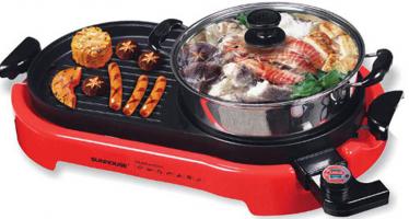 Bếp lẩu nướng hai trong một chất lượng và tiện dụng nhất hiện nay