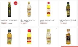 địa chỉ mua dầu oliu tốt nhất Hà Nội