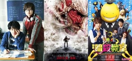 Bộ phim live action được chuyển thể từ manga hay nhất