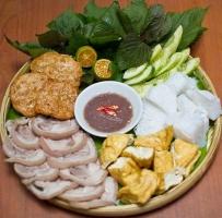Quán bún đậu mắm tôm ngon nổi tiếng Hà Nội