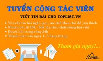 Bước hướng dẫn viết bài trên Toplist.vn