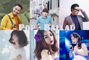 Ca sĩ hát nhạc ballad hay nhất Việt Nam