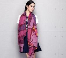 Kiểu quàng khăn đẹp và hợp thời trang dành cho phái đẹp