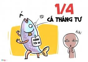 Câu nói dối hài hước, thú vị nhất ngày cá tháng tư 1/4