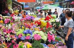 Chợ hoa đẹp nhất Hà Nội
