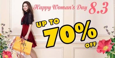 Chương trình khuyến mãi, giảm giá, sale về Quốc tế Phụ nữ 8/3 2017