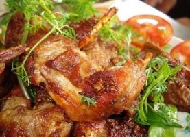 Món ăn ngon nhất được chế biến từ chuột đồng