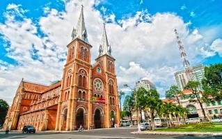 Công trình kiến trúc của Pháp được xây dựng ở thành phố Hồ Chí Minh