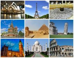 Công trình kiến trúc mang tính biểu tượng cho quốc gia nổi tiếng nhất