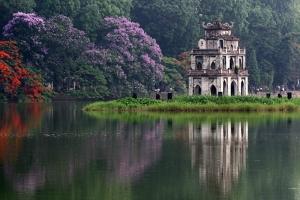 Công trình kiến trúc tiêu biểu của thủ đô Hà Nội.