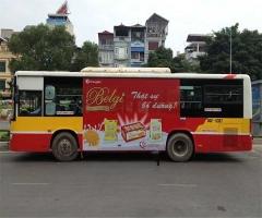 Công ty cung cấp dịch vụ quảng cáo xe buýt tốt nhất tại Hà Nội