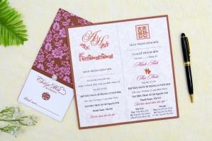 Công ty in thiệp cưới giá rẻ, đẹp và uy tín nhất ở Huế