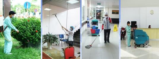 Công ty vệ sinh công nghiệp giá rẻ và uy tín nhất Vĩnh Phúc