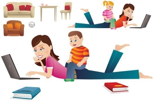 Công việc giúp các mẹ bỉm sữa giảm stress