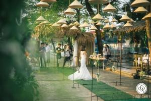 địa điểm tổ chức tiệc cưới ngoài trời đẹp nhất tại Hà Nội