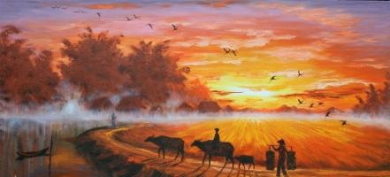 Địa chỉ bán tranh sơn dầu đẹp nhất ở Hà Nội