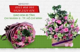 Cửa hàng hoa trực tuyến ở TP Hồ Chí Minh