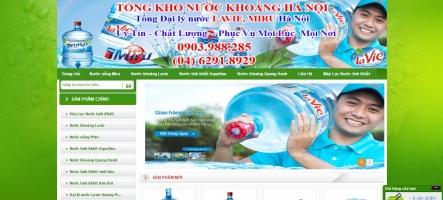 Dịch vụ giao nước tinh khiết tại nhà uy tín nhất Hà Nội