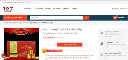 địa chỉ bán ngưu hoàn thanh tâm uy tín và chất lượng nhất Việt Nam