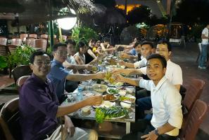 địa điểm liên hoan cuối năm hợp lý nhất ở Hà Nội