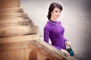 địa điểm may và bán áo dài nổi tiếng nhất tại Huế