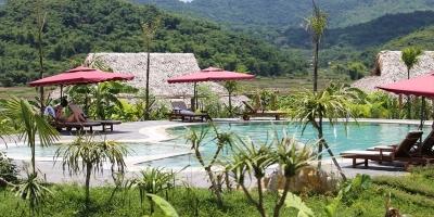 địa điểm nghỉ dưỡng thiên nhiên tránh khói bụi thành phố gần Hà Nội