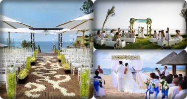Địa điểm tổ chức cưới trên biển