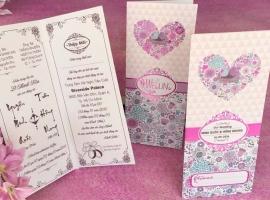 Dịch vụ in thiệp cưới đẹp giá rẻ nhất tại Đà Nẵng
