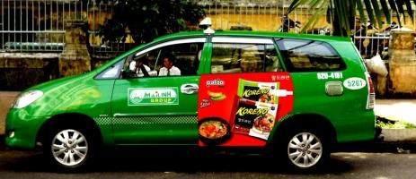 Dịch vụ Quảng cáo trên xe hơi/ô tô hiệu quả và uy tín nhất hiện nay