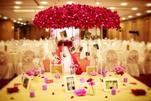 Dịch vụ trang trí tiệc cưới tốt nhất tại Hà Nội