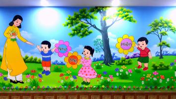 Dịch vụ vẽ tranh tường rẻ và đẹp nhất Hà Nội
