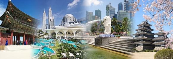 Địa điểm du lịch tuyệt vời của Châu Á được cả thế giới công nhận