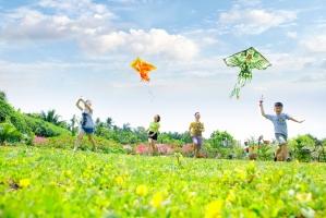 Trò chơi gợi nhớ tuổi thơ của trẻ em nông thôn