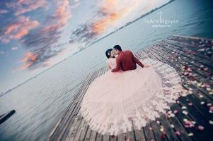 điều cần lưu ý khi chụp ảnh cưới ngoại cảnh
