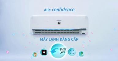 điều hòa không khí tốt nhất từ thương hiệu Sharp
