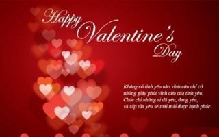 điều nên làm nhất cho vợ yêu để có một valentine hạnh phúc